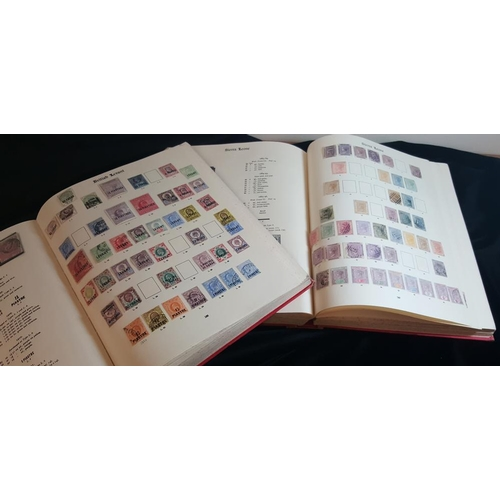 65 - BRITISH EMPIRE 1840-1935 M & U collection housed in two Imperial albums with useful ranges throughou...