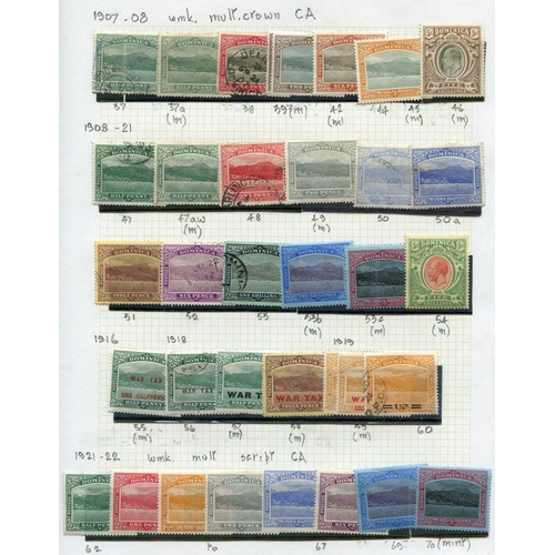 669 - 1874-83 M & U collection on leaves with several better incl. KEVII to 5s M & U, KGV 1908 to 5s M, 19...