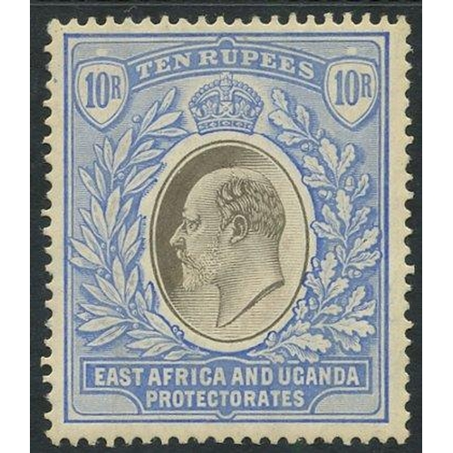 677 - 1904-07 MCCA 10r grey & ultramarine, fine M, SG.31. Cat. £350...