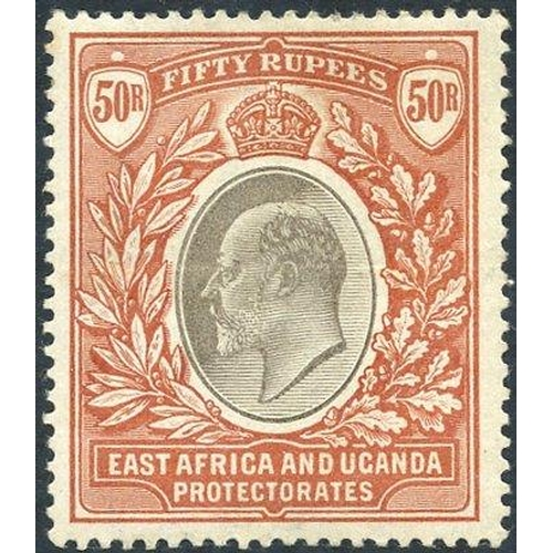 679 - 1903-04 50r grey & red-brown, M (central horizontal crease o/w fine), SG.16. RARE (1) Cat. £2000...