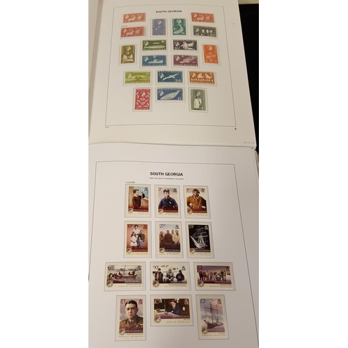 710 - 1963-2003 UM collection housed in two Davo hingeless albums, appears complete with defins, commems &...