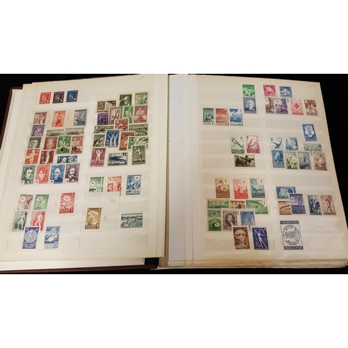 721 - FINLAND & ALAND ISLANDS 1875-1988 M collection in Briefmarken spring back stock book; a few early is...