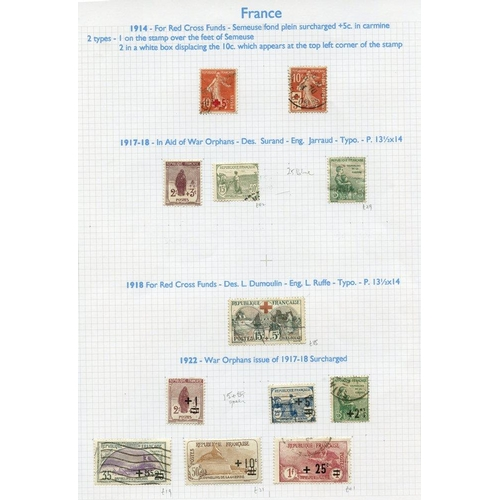 725 - 1853-2008 M & U collection housed in nine Alpha Major albums, good general collection incl. the odd ...