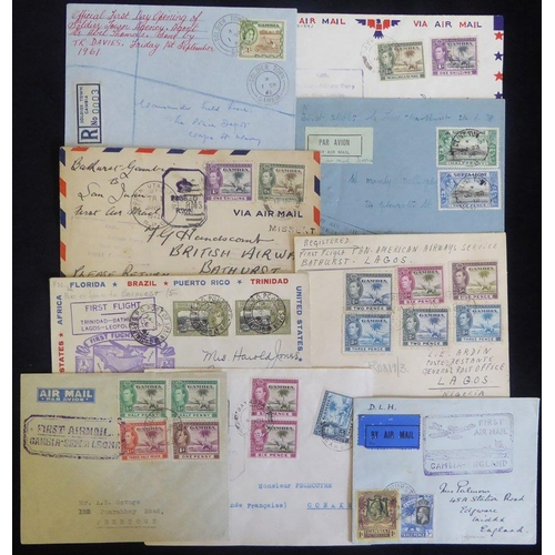 752 - 20thC - very large & interesting collection of covers, pmks & stamps, many written up on album leave...