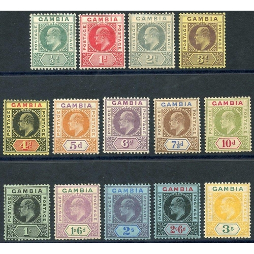 764 - 1909 Colours Changed MCCA set M, SG.72/85 (14) Cat. £150...