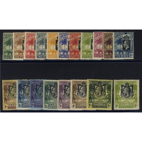 769 - 1922-29 MSCA set, M (excl. 3s slate-purple), some toning present, SG.122/142. (19) Cat. £275...