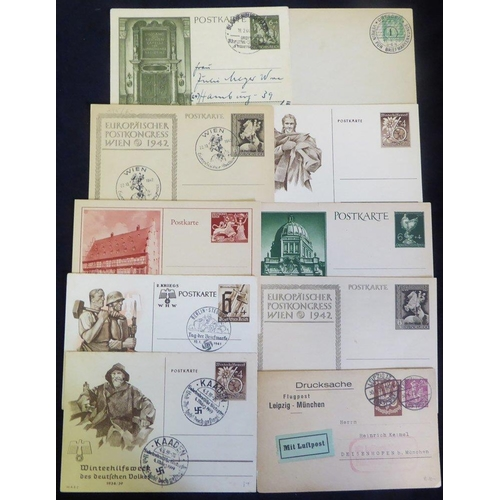 784 - c1870's-1930's selection of postal stationery, M & U with emphasis on earlier issues incl. 1926 8pf ...