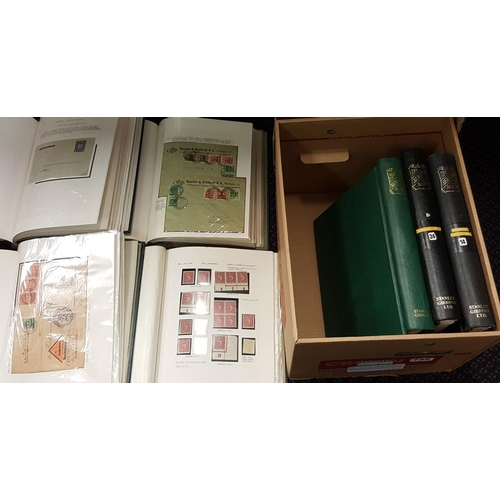 788 - 1900-25 substantial M & U + covers collection housed in seven Senator albums, useful ranges of Infla...