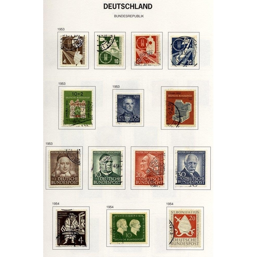 832 - 1950-2006 good to VFU collection housed in two Davo albums incl. several better catalogue items, num...