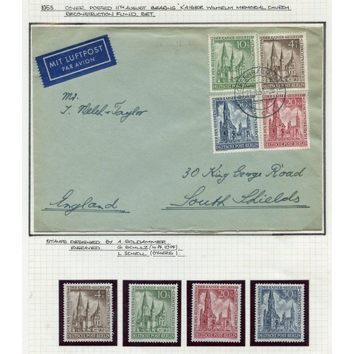 837 - 1948-73 collection written up & housed in a Senator album incl. M & U stamps, se-tenants, coil strip...