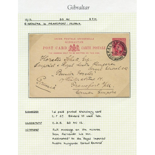 847 - 20thC collection of used KGV postal stationery comprising various reg envelopes, wrapper, 2d embosse...