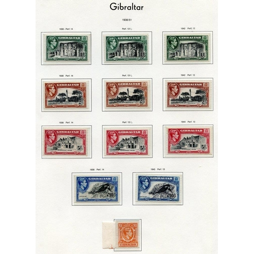 848 - 1886-1991 M or UM collection housed in a Lighthouse album with small range of QV incl. 1889 Spanish ...