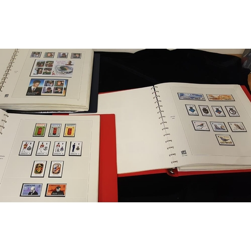 865 - 1963-2012 UM (small number of 1960's are hinged) collection housed in three hingeless Safe albums, a...