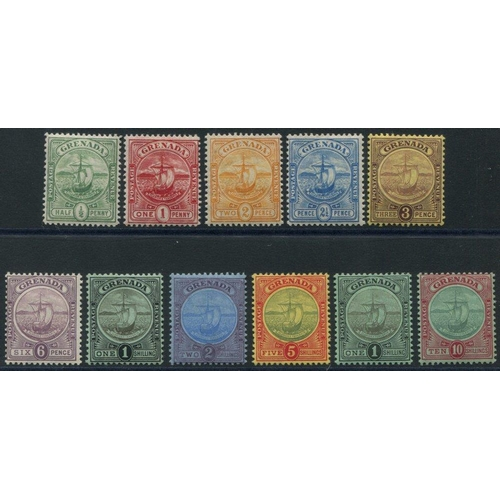 957 - 1906 MCCA set, fine M, SG.77/88. (11) Cat. £350...