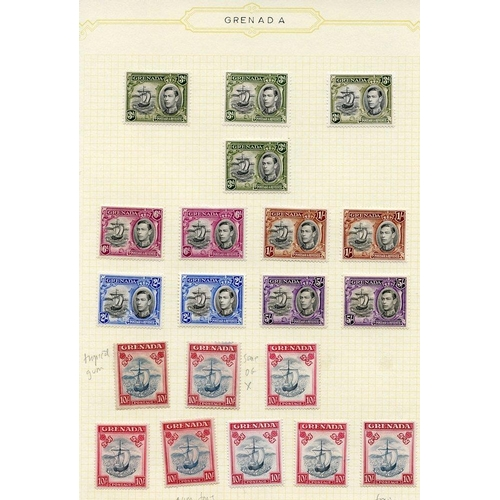 959 - 1934-67 fine M collection on leaves incl. 1934 Defin set with some perf variations, 1935 Jubilee set...