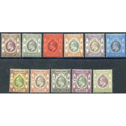 971 - 1903 CCA 1c to $1 complete fine M, SG.62/72. (11) Cat. £498...