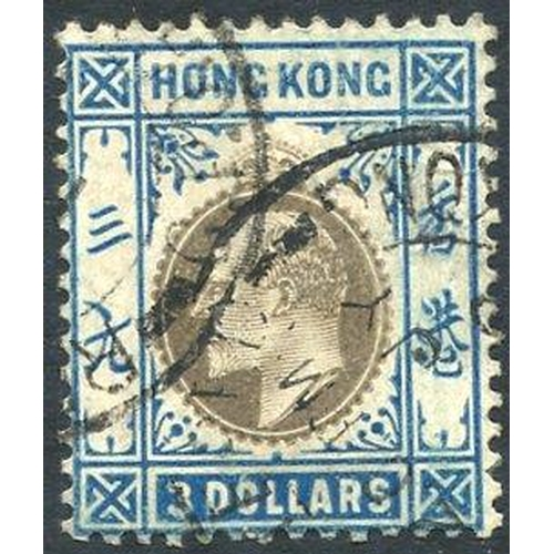 973 - 1905 MCCA $3 slate & dull blue VFU, SG.88. Cat. £350...
