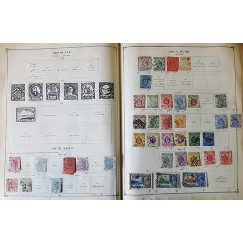 98 - WORLD COLLECTION housed in a bulging Scott International Junior album, 1000's stamps, album a little...