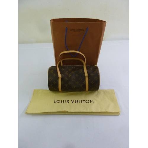 205 - Louis Vuitton Papillon ladies handbag in original cloth cover...