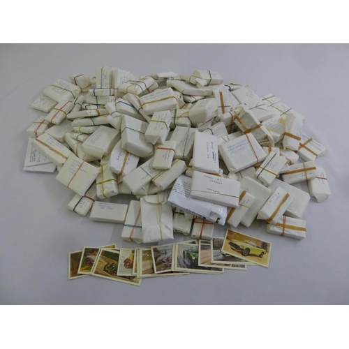 233 - A quantity of cigarette and tea cards...