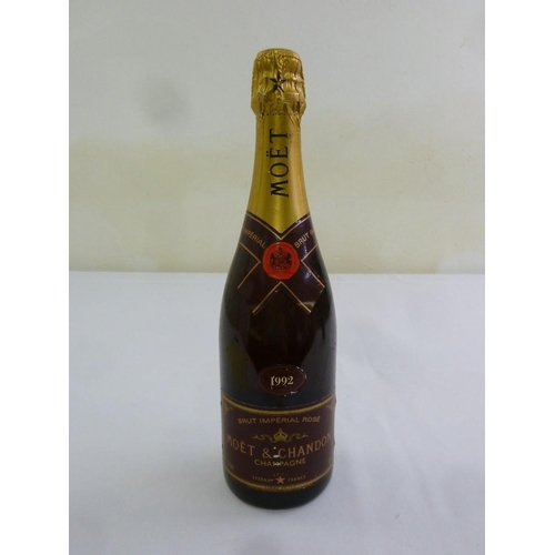238 - Moet and Chandon champagne Brut Imperial Rose 1992 75cl bottle...