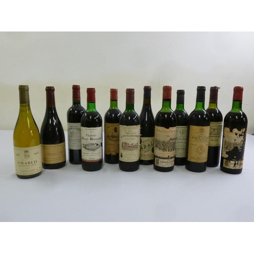 254 - A quantity of Burgundy and white wine  (12)...