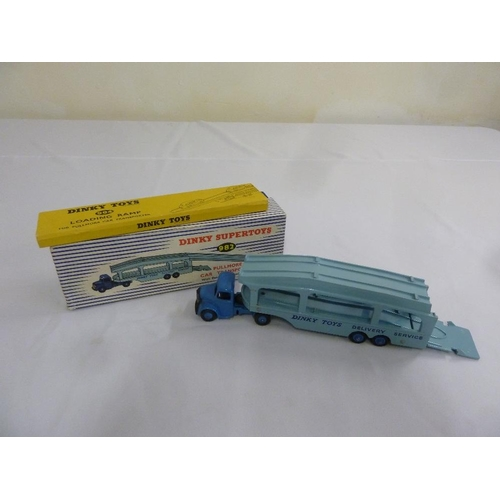423 - A Dinky Supertoys 982 Pullmore Car Transporter in original packaging...