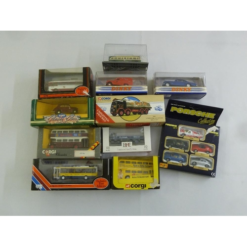 430 - A quantity of Corgi and Dinky all in original packaging  (11)...
