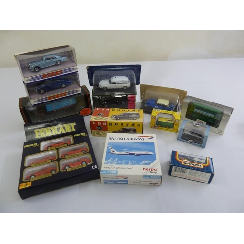 431 - A quantity of Dinky and EFE diecast all in original packaging  (11)...