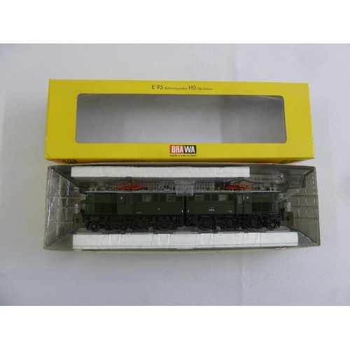 445 - Brawa HO gauge E 95 electric locomotive, as new in original packaging...