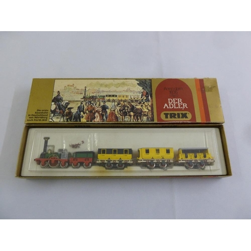 447 - Trix HO gauge Der Adler, as new in original packaging...