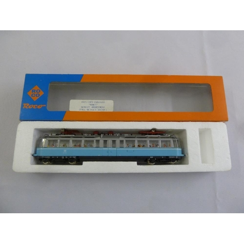 459 - Roco HO gauge tramcar 43525, as new in original packaging...