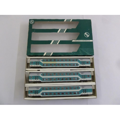 475 - Sachsenmodelle HO gauge Doppel stock set, in original packaging...