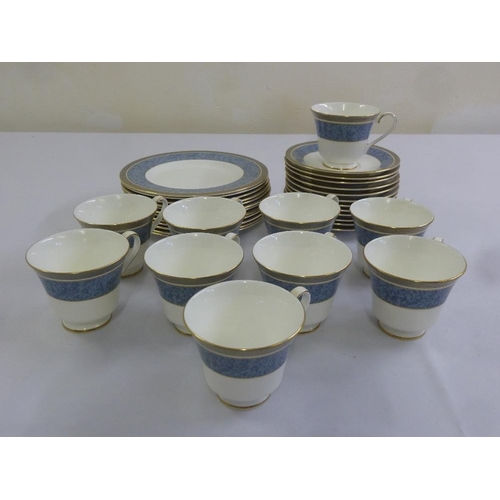 96 - Royal Doulton St Pauls part tea service to include cups and saucers (34)...