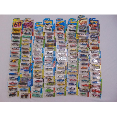 426 - A quantity of Mattel HotWheels diecast all in good condition and original packaging (130)...