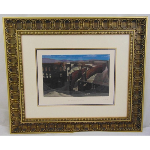 48 - Salvador Dali framed and glazed polychromatic serigraph titled Two Hundred and Thirty Seven, limited...