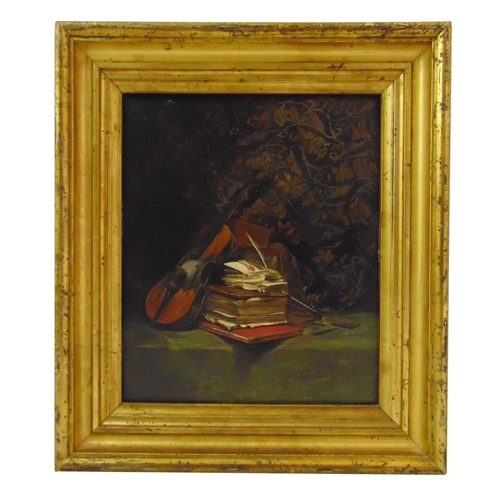 60 - Edward George Handle Lucas framed oil on panel titled Loved Ones, signed bottom right, gallery label...