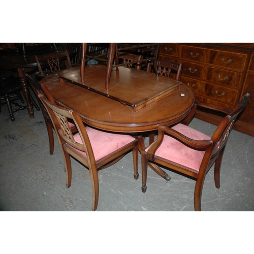 107 - Dining table & 6 chairs...