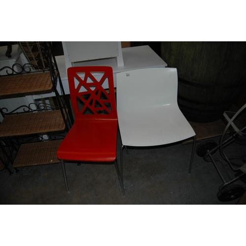 321 - 2 modern designer chairs...