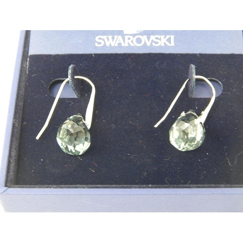 41 - Pair of Swarovski Earrings in Original Box...