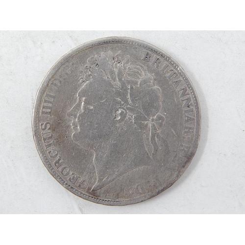 21 - George IV Silver Crown 1822...