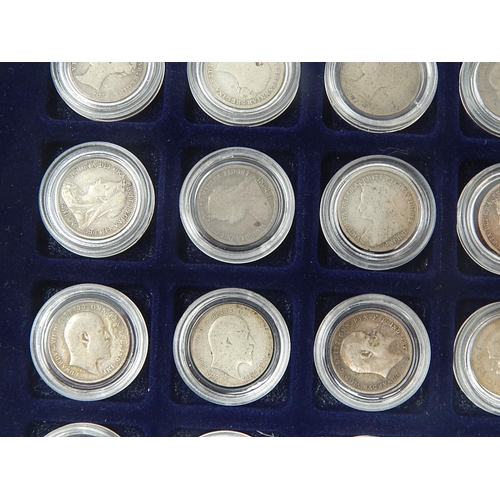 7 - Group of Silver Groats and Silver Threepences from William IV, Victoria, Edward VII, George V and Ge...