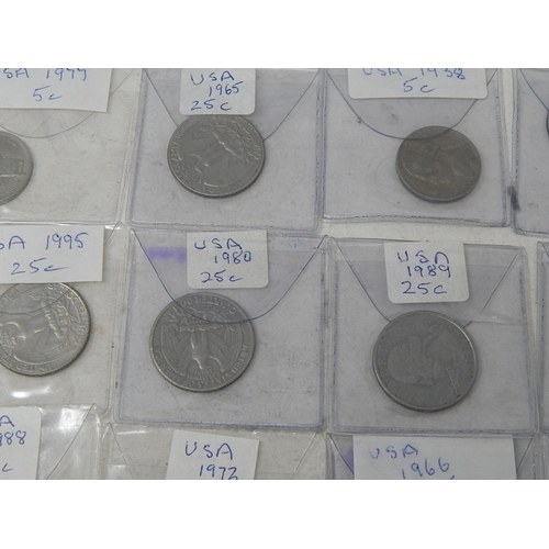 37 - USA  1 Cent 1863; 1911;  Silver Dime 1897, 1917, 1939; 5 Cent 1906, 1913 (Buffalo standing on mound ...