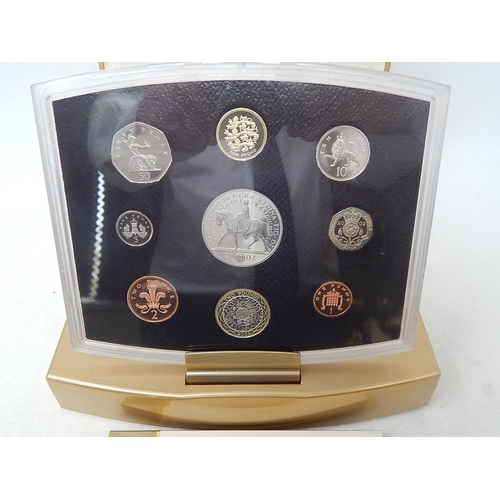 39 - GB Executive Proof Set 2002 Golden Jubilee...