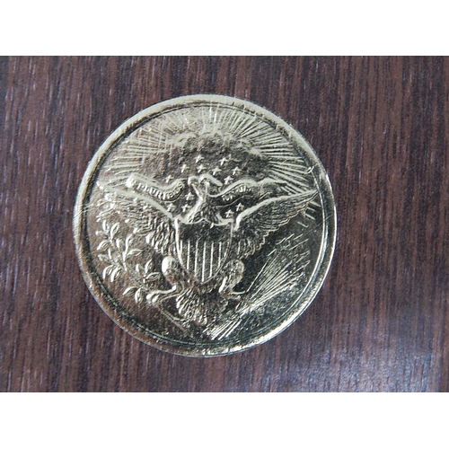 54 - USA Eisenhower Proof Silver Dollar 1972 in original case...
