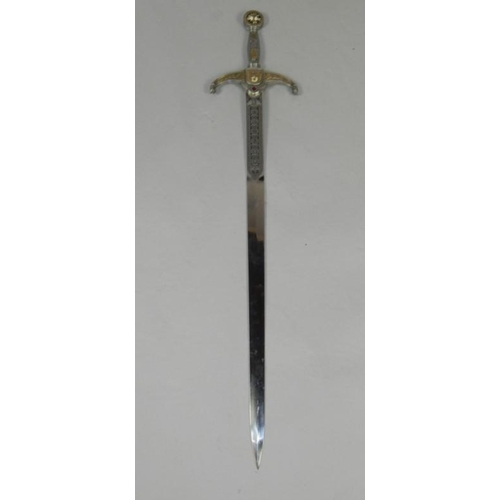 Knights Of The Round Table Swords.A Replica Knights Of The Round Table Sword By Acero Toledano