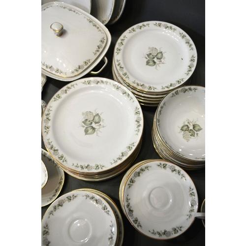45 - A Bavarian Porcelain Extensive Tea and Dinner Service