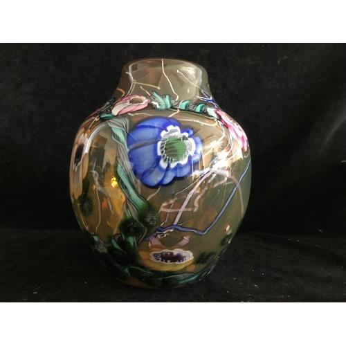 Paul Allen Counts American An Ocean Glass Vase The Dark Amber