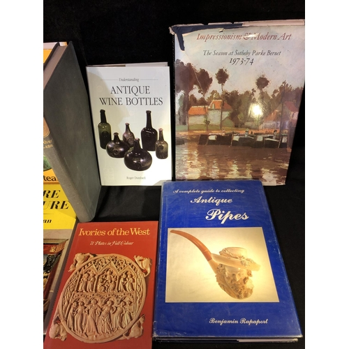 29 - Reference books - Antique Wine Bottles, Roger Dumbrell; Empire Furniture, Serge Granjean; A Complete...