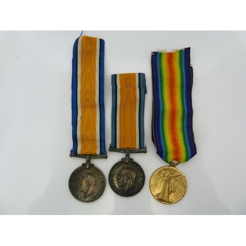115 - Medals & Decorations - World War I - two British War Medals, awarded to SE-4000, PTE W H Murgott, A....
